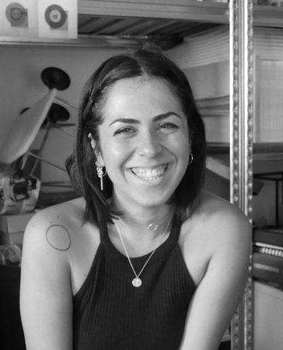 Imma Giliberto Product designer e Collaboratrice presso l'Accademia di Belle arti di Bologna