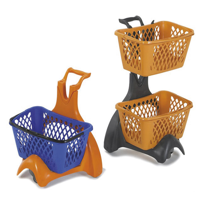 cestini da supermercato